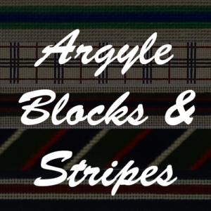 Argyle Blocks and Stripes