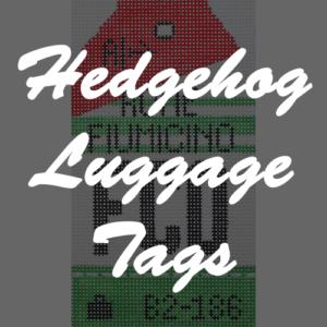 Hedgehog Luggage Tags