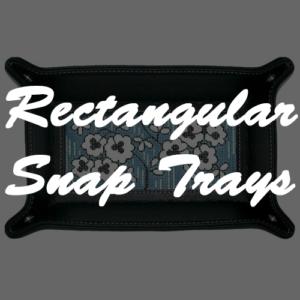 Rectangular Snap Trays